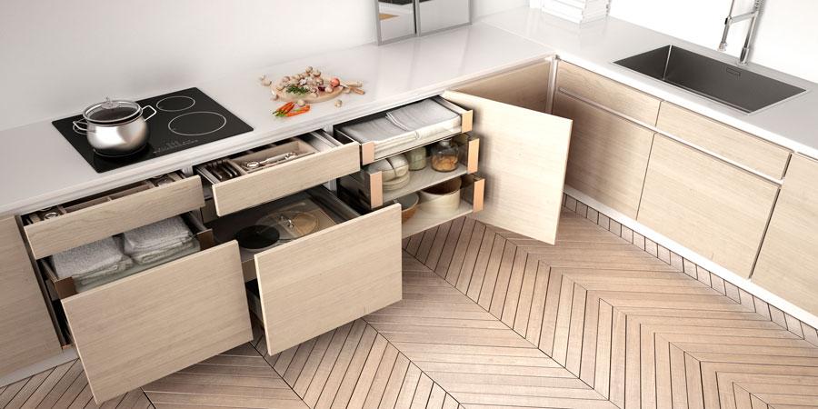 organizar armarios de la cocina